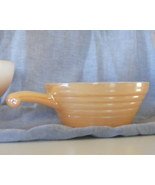 Fire King Peach Lustre Soup Bowl with Handle - $7.99