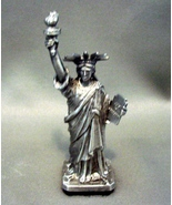 Solid Pewter Statue of Liberty  Figurine - Beautiful Detail U.S.A. - $21.99