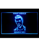 P377B What Would Fonzie Do Pub Sport Game Champion Star Light Sign - $30.99