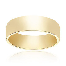 6.0mm 14K Yellow Gold Comfort Fit Band - $424.71