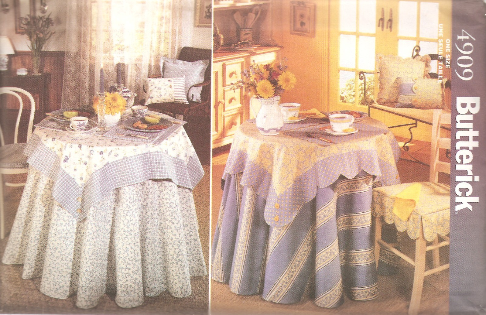 home decor sewing pattern table toppers placemats home decor sewing