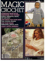 MAGIC CROCHET Issue # 29 - 1984 February - $9.99