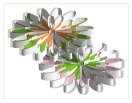 *Flowers 3D* Digital Art JPEG Image Download - $2.94