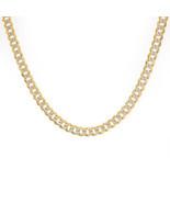 """Mens 14K Yellow Gold Cuban/Curb Diamond Cut Chain 20"""" Inches 24.2 Grams - $1,919.61"""