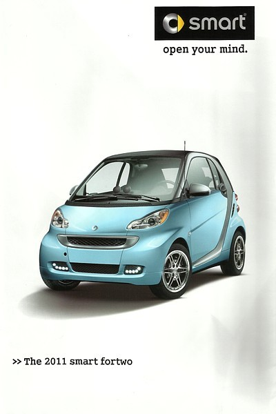 2011 SMART FORTWO US sales brochure catalog 11 Swatch pure passion