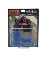 The Walking Dead Ezekiel & Chiva Figure PVC Mini Translucent Blue 2-Pack... - $33.75