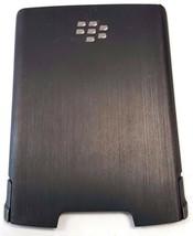 OEM Standard Metalic Dark Grey Plastic Battery Door Fits BlackBerry Stor... - $4.50
