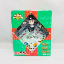 ENESCO CHRISTMAS ORNAMENT: MONOPOLY BOARD GAME 1997 Green Box.  NEW in BOX - $23.33