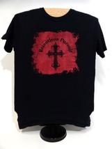 Relentless Pursuit Cross Christian Punk Worship Small Unisex T-shirt - $12.86