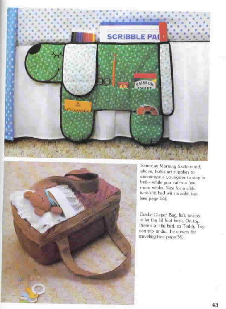 A Farm Journal Craft Book More Scrap Saver's Stitchery