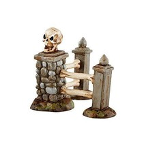 Department 56 Halloween Village Boneyard Corner Fence Accessory Figurine... - ₨2,404.12 INR