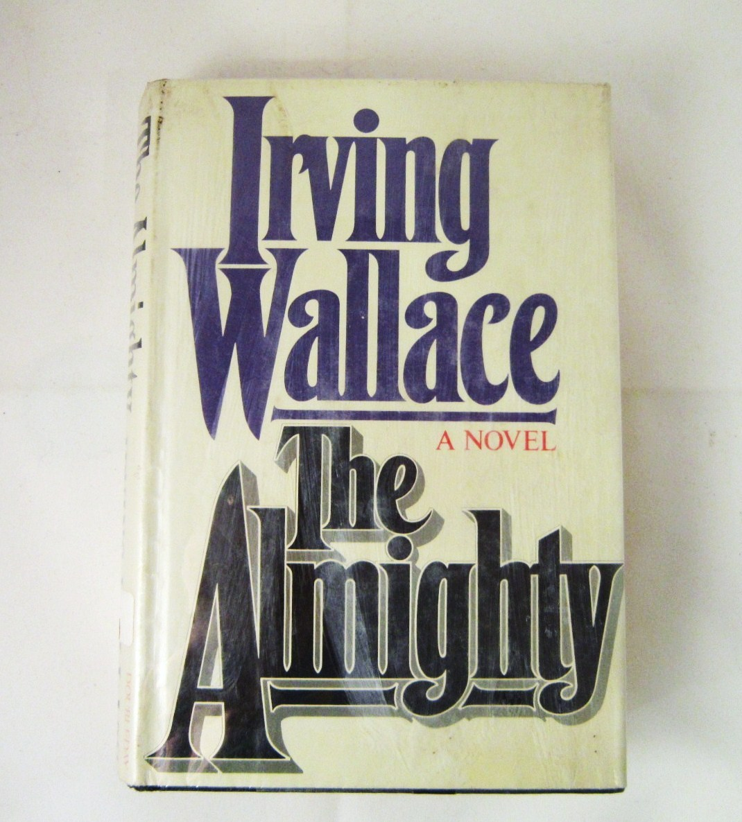 The Almighty 1982 Irving Wallace, Suspense Novel