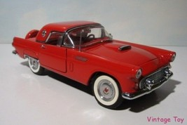 ~ Danbury Mint 1956 Ford Thunderbird convertible HT - 1:24 diecast  in Box - $44.95