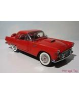 ~ Danbury Mint 1956 Ford Thunderbird convertible HT - 1:24 diecast  in Box - $44.95