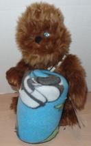 Star Wars Plush Chewbacca Hugger with Throw Yoda Darth Vader NEW - $25.00