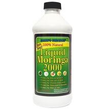 Liquid Moringa Oleifera 100% Natural - 2000mg 16 OZ - $28.59