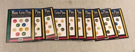 (16) Sheets of Unused American Girl Doll Mini Grin Pins 1995 Pleasant Co... - $29.69