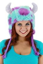 Disney's Monster's University Sulley Deluxe Laplander Beanie Hoodie Hat UNWORN - $28.05