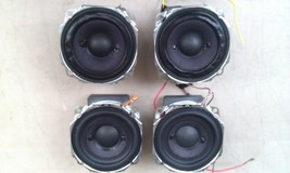 "9N58 SET OF 4 SPEAKERS, 9 OHM 10 WATT, 3"" NOMINAL, FROM SONY DLP TV, VGC... - $40.54 CAD"