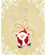 5 Christmas Vector Illustration Santa BB-Digita... - $3.00