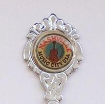 Collector Souvenir Spoon USA Tennessee Nashville Music City USA - $2.99