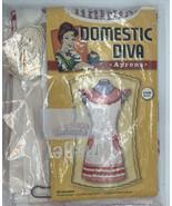 Domestic Diva -Aprons ~ The Doris~complete kit-New - $14.80