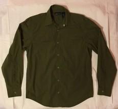 Calinda Cotton Blend Button Down Shirt by JONES NEW YORK small - $34.91