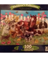"Children's Collection ""It's Been a Long Day"" Multi-Animal Photo100pc Puzzle - $6.99"