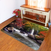 3D Stream Maple Tree 239 Non Slip Rug Mat Quality Elegant Photo Carpet US Cobb - $93.49+