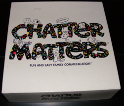 1996 Chatter Matters Board Game - $35.00
