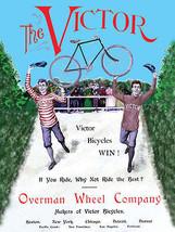Victor Bicycle Cycle Bike Vintage Advertisement Metal Sign - $23.95