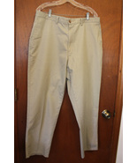 Men's Puritan Khaki Colored Casual Pants - Size 38 - $12.99
