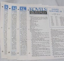 Koval's Antiques & Collectibles 6 issues - $20.00