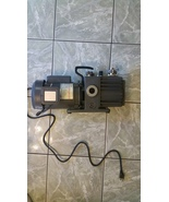 Fisher Scientific D2A MAXIMA ROTARY VANE DUAL STAGE MECHANICAL VACCUM PUMP - $375.00