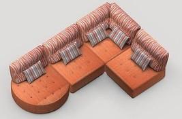 Kristin 5 Sectional Sofa Modular Contemporary Modern Lifetime Warranty Spain