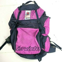 Invicta Vintage 90s Elk 3 Large Hiking Backpack Nylon Padded Rigid Multi... - $96.53