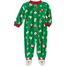 Baby Boys Carters Snowman Footed Sleeper - $10.00