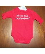 Preemie & Newborn Baby's Christmas Long Sleeved Onesie - $6.00