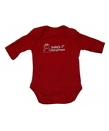 "Preemie & Newborn Baby's ""Baby's 1st Christmas"" Long Sleeve Onesie - $7.00"