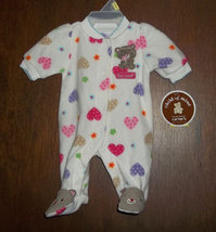 "Preemie Girls ""Too Sweet"" Footed Sleeper - $10.00"