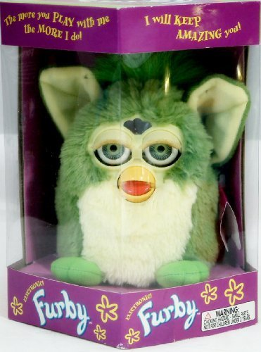 Furby - Electronic - Green with Green Eyes