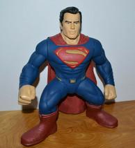 "SUPERMAN LARGE 13"" TALKING ACTION FIGURE TEAM TRAINERS JUSTICE LEAGUE 20... - $13.54"