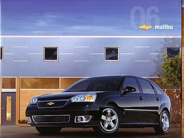 2006 Chevrolet MALIBU sales brochure catalog US 06 Chevy Maxx - $6.00