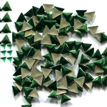 TRIANGLE Smooth Rhinestuds 6mm PERIDOT Hot Fix 1 gross - $4.99