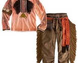 LOT 2 Tonto Costume Native American Indian Spiderman Disney Store Size 5/6 NEW!