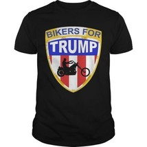 Bikers For Trump Bedminster Shirt Men's T-Shirt Clothing in US 100% Cotton - $12.22+