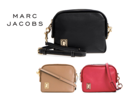 MARC JACOBS Mini Squeeze leather cross-body bag with Free Gift Free Ship... - $275.00