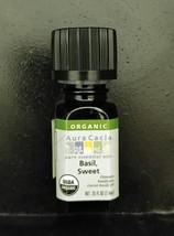 Aura Cacia Organic Sweet Basil Essential Oil 0.25 fl. oz.