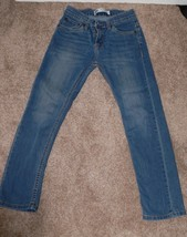 Levi's Boy's 511 Slim Jeans Size 10 Regular 25 x 25 tb - $14.99