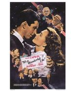 It's A Wonderful Life Jimmy Stewart Donna  Reed Promo2 8X10 Color Movie ... - $6.99